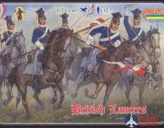 STR036  Crimean British Lancers (re-issue) Фигуры Strelets *R