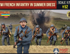 STRM134 Фигуры Strelets*R French Infantry in Summer Dress