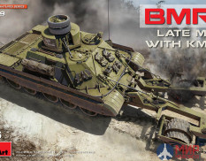 37039 MiniArt 37039 танк BMR-1 LATE MOD. WITH KMT-7 (1:35)