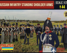 STR180 Prussian Infantry Standing Shoulder Arms Фигуры Strelets *R
