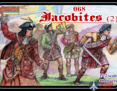 STR068 Фигуры Strelets*R Jacobites (2) (re-issue)