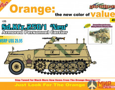 9149  БТР Sd.Kfz.250/1 'NEU' Armored Personnel Carrier  (1:35) Dragon