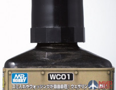 WC01 Gunze Sangyo Смывка MR.WEATHERING Color - Multi Black