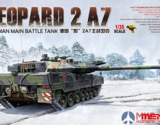 TS-027 Meng Model 1/35 German tank GERMAN MAIN BATTLE TANK LEOPARD 2 A7