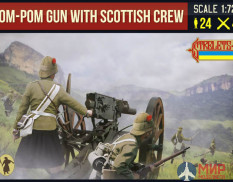 STR189 Pom-Pom Gun with British Crew Фигуры Strelets *R