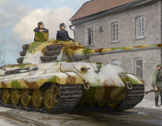 84532  Hobby Boss танк Pz.Kpfw.VI Sd.Kfz.182 Tiger II (Henschel Feb-1945 Production)  (1:35)