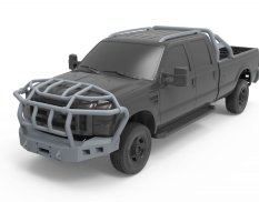 SPS-047 Meng Model 1/24 Ford F-350 Exterior Accessories kit