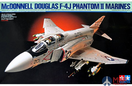 60308 Tamiya 1/32 Самолет F-4J Phantom II Marines
