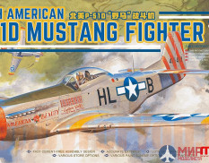 LS-006 Meng Model 1/48 Самолет NORTH AMERICAN P-51D MUSTANG FIGHTER