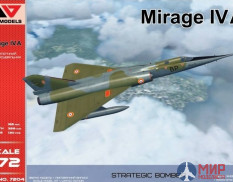 AA7204 AAModels Mirage IVA Strategic bomber 1/72