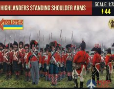 72199ST Strelets Highlanders Standing Shoulder Arms 1/72