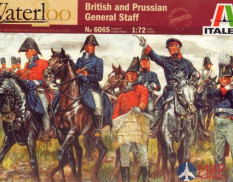 6065 Soldiers Italeri 1/72 British and Prussian General Staff