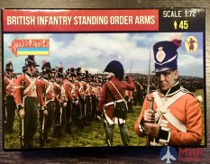 72201ST Strelets British Infantry Standing Order Arms 1/72