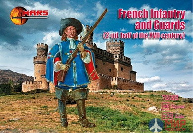 MR72083 MARS 1/72 French infantry & Guards