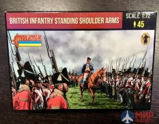 72202ST Strelets British Infantry Standing Shoulder Arms 1/72