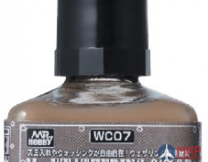 WC07 Gunze Sangyo Смывка MR.WEATHERING Color - Grayish Brown
