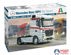 3948 Italeri автомобиль  MERCEDES-BENZ MP4 BIG SPACE  (1:24)