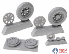 NS32042-a North Star Models 1/32 Wheels set for Vought F4U Corsair - No mask