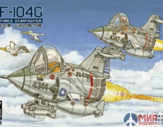AFQS04 Q-F-104 STARFIGHTER (2SETS)
