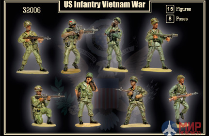 MR32006 MARS 1/32 Набор фигур US Infantry Vietnam war