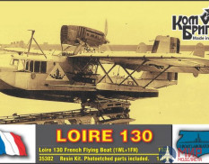 KBA35302 Combrig 1/350 Гидросамолет Loire 130 French Flying Boat, 1936 (1WL+1FH)