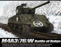 "13500 Academy 1/35 Танк M4A3 (76)W ""Battle of Bulge"""