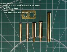 MM3529 Magic Models 1/35 Barrel 2A46M (M-1,M-2) without heat-protective cover for T-64BV,T-72A(late)T-72B