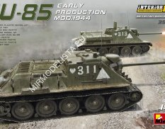 35204  САУ  85 EARLY PRODUCTION Mod. 1944 INTERIOR KIT  (1:35)  MiniArt