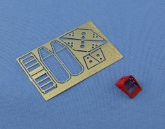 NS48047 North Star Models 1/48 Фото-ние Wheel chocks for Modern Russian(Soviet) aircrafts(type 1)
