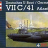 05045 Revell 1/72 Подводная лодка Deutsches U-Boot/German Submarine VIIC/41