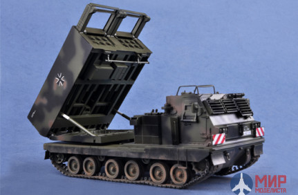 01046 Trumpeter 1/35 САУ  M270/A1 Multiple Launch Rocket System - Germany