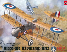 ROD612 Roden 1/32 Самолет Airco (de Havilland) DH2