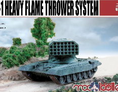 UA72008 Modelcollect 1/72 Огнеметная система TOS-1 Heavy Flamethrower System