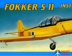 "0801 Smer Fokker S 11 ""Instructor"" 1/40"