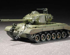 07286 Trumpeter 1/72 Танк M26A1 Pershing