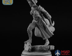 NS-F54/32031 North Star Models Figure 54 mm Battle Nun figure with resin base