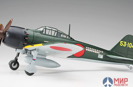 08245 Hasegawa Самолет Mitsubishi A6M5 Zero Fighter Type 52 Super Ace 1/32