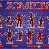 ALL72023 Dark Alliance 1/72 Zombies set 1