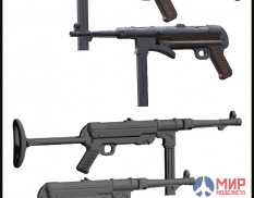 EMA-35025 Evolution Miniatures MP-40 , MP-38 ( 4 pieces )