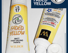 HDF-LS-17 Adam Wilder paints a YELLOW FADED