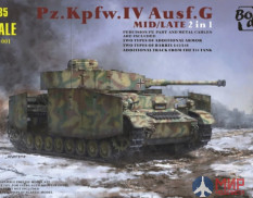BT-001 Border PZ.KPFW.IV AUSF.G MID/LATE (2 IN 1) 1/35