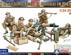 35GM0013 Gecko Models 1/35 British MG Team in Combat