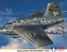 08248 Hasegawa Самолет Me163B Comet Second Preliminary Combat Air Defense Corps 1/32