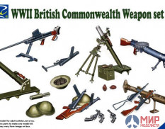 RE30010 Riich Models 1/35 WWII British Commonwealth Weapon Set A