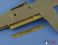 NS48087 North Star Models 1/48 PE set of Metal land.Flaps for Fw.190A/F/G(Tamiya, Eduard model kits)