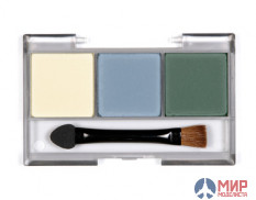 87098 Tamiya Set of pigments E (effect dry-brush yellow, gray, green)