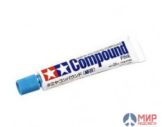 87069 Tamiya Шлиф.-полир. паста Polishing Compound Fine