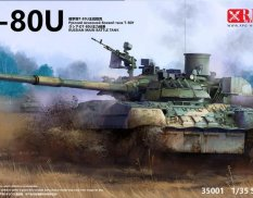 35001 RPG T-80U Russian main battle tank 1/35