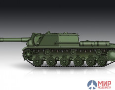 07130  Trumpeter САУ Soviet S-152 Self-propelled Heavy Howitzer - Late  (1:72)