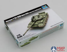 07148  Trumpeter танк Russian T-62 BDD Mod.1984 (Mod.1972 modification)  (1:72)